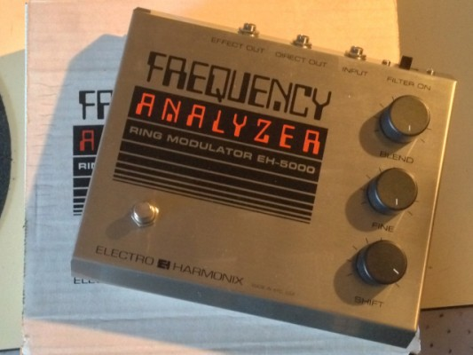 Vendo:Pedal Modulador de Anillo Frequency Analyzer Electroharmonix VINTAGE