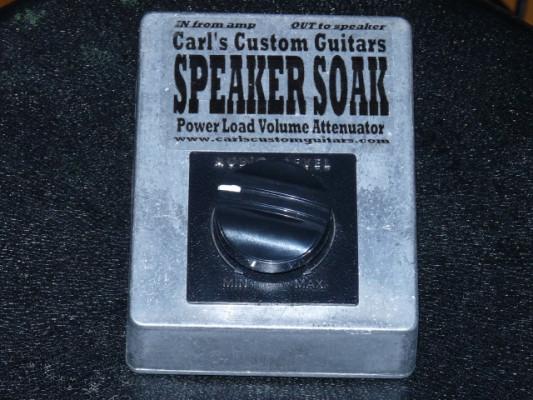 Speaker Soak Volume Attenuator