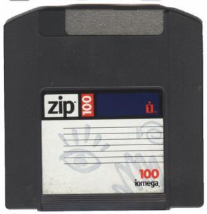 ZIP Iomega 100 mb - 8 Discos