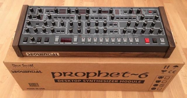 Prophet 6 Desktop