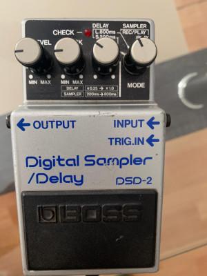 Digital sampler delay boss de 1985