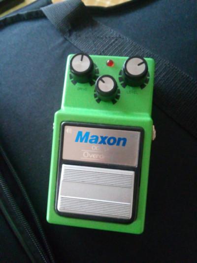Maxon os9 overdrive