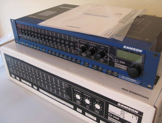 Equalizador Samson D-3500