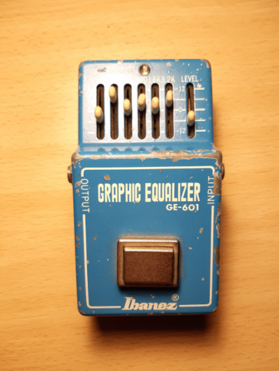 Ecualizador gráfico Ibanez GE-601