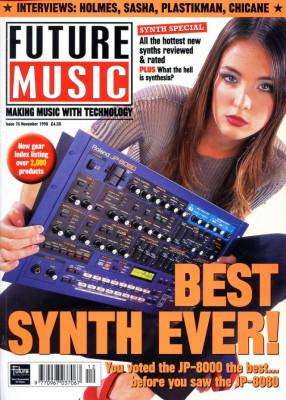 Lote de revistas Future Music