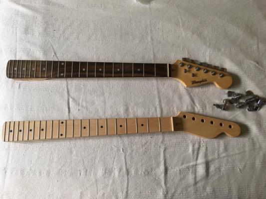 Mástil de Stratocaster, marca Memphis [Envío incluido]