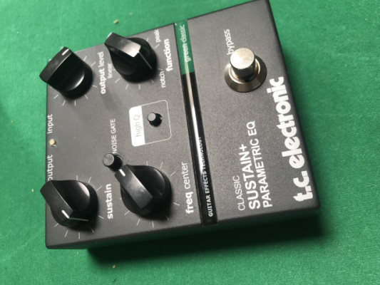 TC Electronic Classic Sustain + Parametric Equalizer