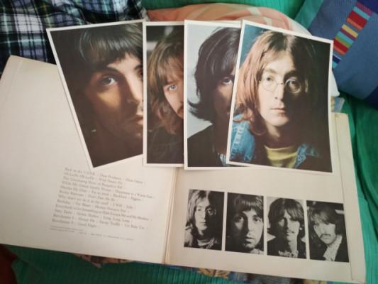Disco de vinilo Blanco de Beatles