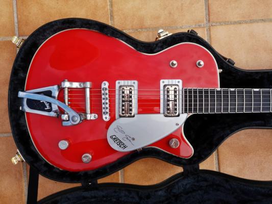 Gretsch 6128TEE Elliot Easton Signature Duo Jet 2000s Firebird Red