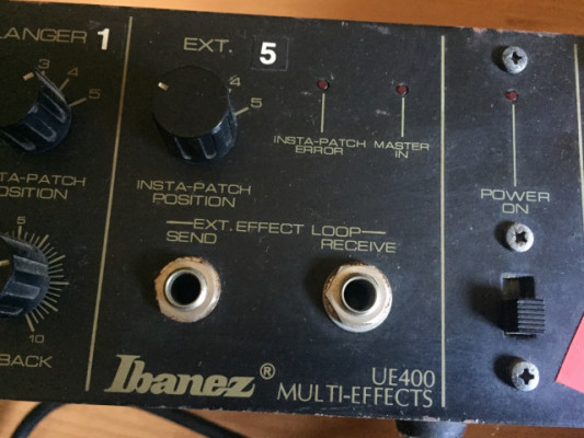 Ibanez UE-400, Multieffects Rack with Foot Controller