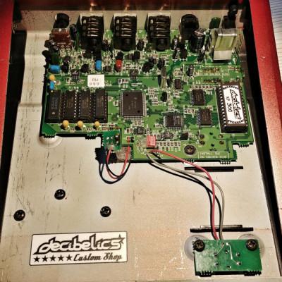 Digitech Space Station (XP100 modificado) VÍDEO DENTRO