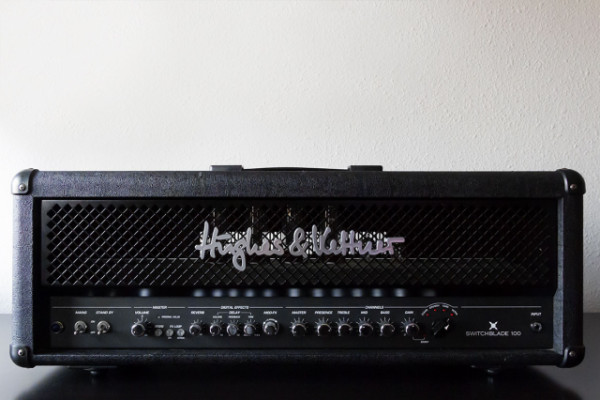 Cabezal a válvulas, 4 canales, MIDI y efectos. H&K Switchblade Head 100