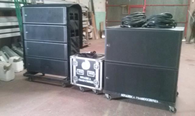 se vende equipo Meyer sound MICA