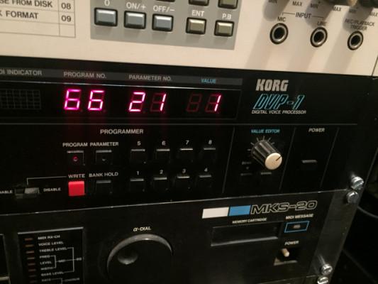 Korg Dvp-1 vocoder