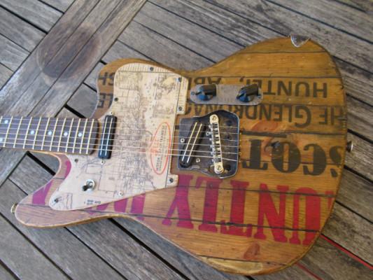 BiperArt Jag & Tele Custom Relic Guitar Única!!!