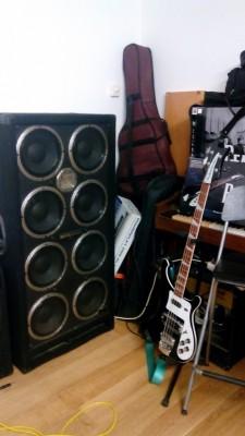 Behringer Ultrabass BB810 8x10 Bass Cabinet