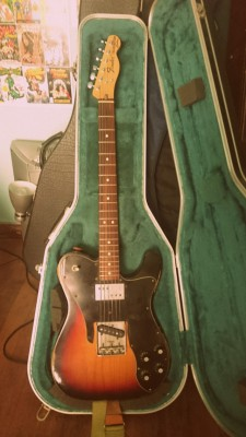 600e URGE! (solo este finde)Fender Telecaster Custom 72 ROAD WORN