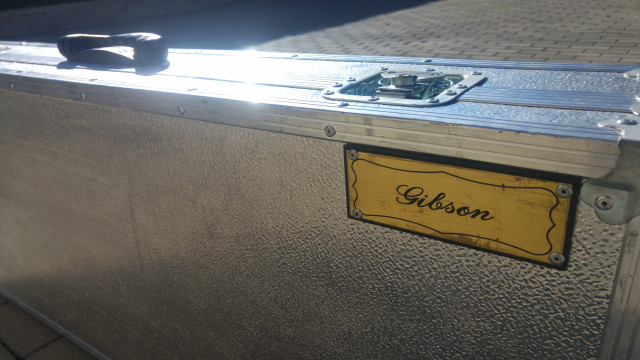 Flight case gibson 335 estuche, hard case