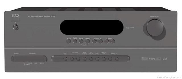 Amplificador NAD T753 + Boston Acoustics Micro 80x
