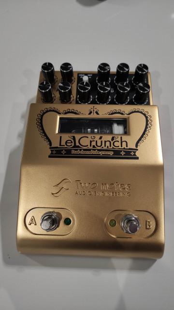 Regalo pedal:Y cambio: two notes le crunch(envío incluido)