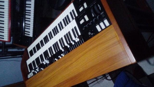 Cambio key b organ por hammond con lesli