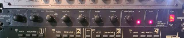 Excitador de armónicos SPL VITALIZER MK2