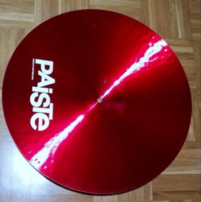 Vendo Paiste color Sound 2000 Rojo