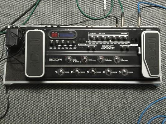 Zoom G9.2tt y pedalboard hecho a medida