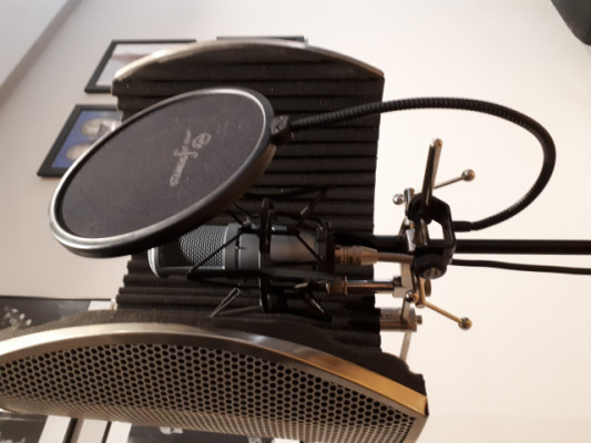 MICRO AKG 120 más kit grabación.