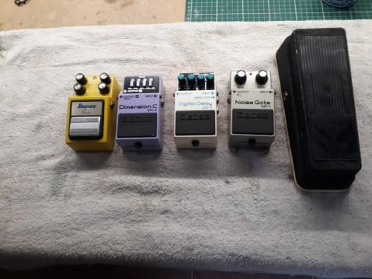 pedales vintage, ibanez, boss , jen  ,,,,italia /japon