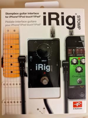 iRig Stomp Interfaz de audio