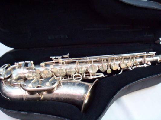 """o cambio Saxofón Alto Pierret """"Super Artiste"""""""