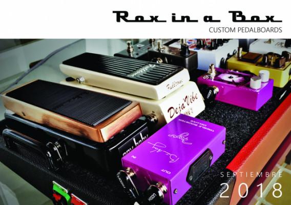 Pedaleras Custom Rox in a Box con BOLSA GRATIS!!!