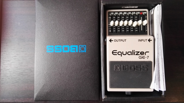 Boos GE-7 Equalizer