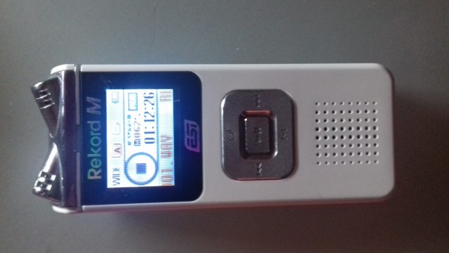Grabadora RECORD M MP3.