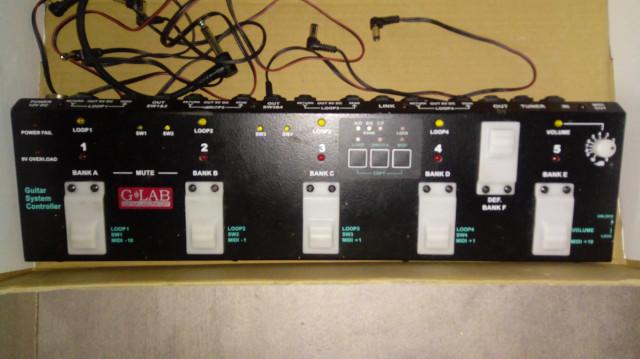 Vendo controlador de pedales GLab GSC-1