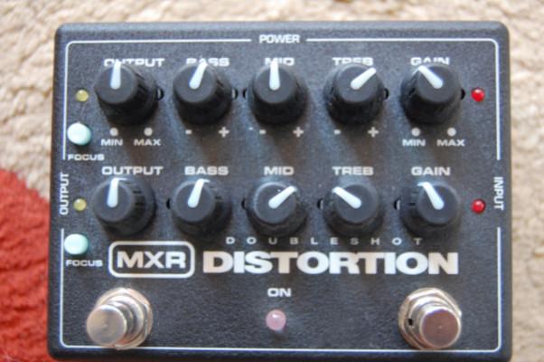Pedal MXR Doubleshot Distortion con tara