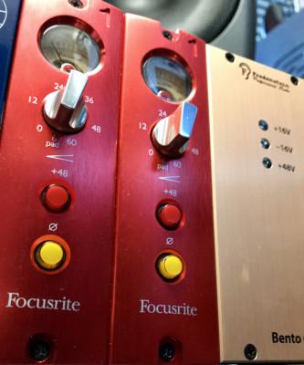 Focusrite red 1 serie 500