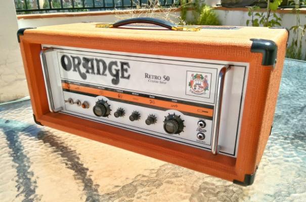 Orange Retro 50 Custom Shop REBAJA