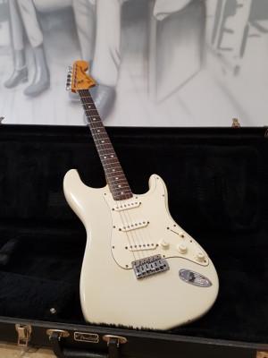 Fender Stratocaster - Olympic White 1978