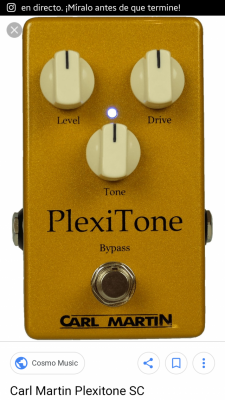 Carl Martin Plexi Tone. Distorsion. Drive. Overdrive.