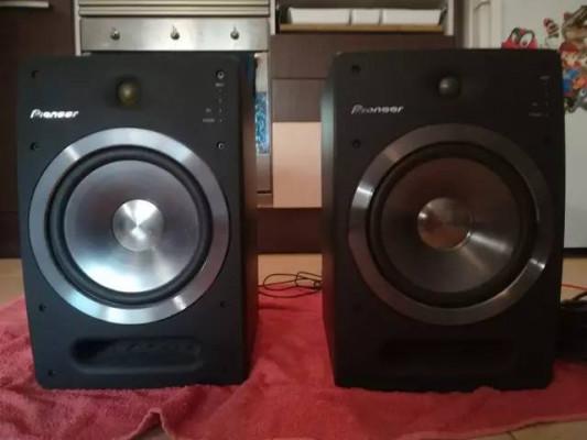 Pioneer S-DJ08 / Cambio por Adam A5X