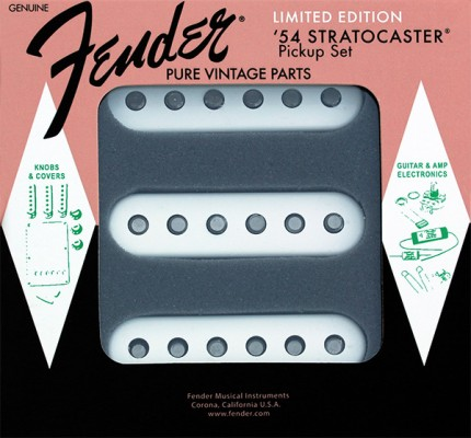 Fender 60th Anniversary 1954 Strat Pickups limited edition