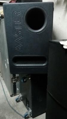 Subgraves alto rendimiento Master Audio SW18B