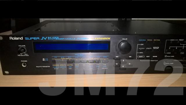 Roland JV-1080 + 2 expansiones