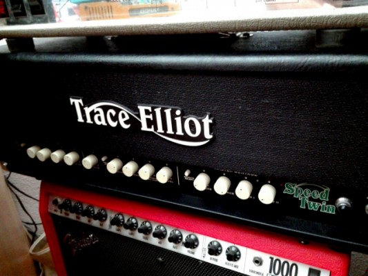 Trace Elliot Custom Shop Speed Twin MKII.