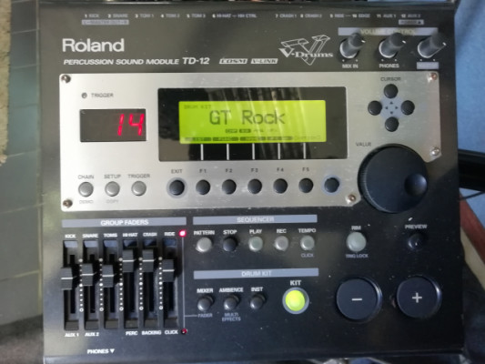 bateria roland td 12