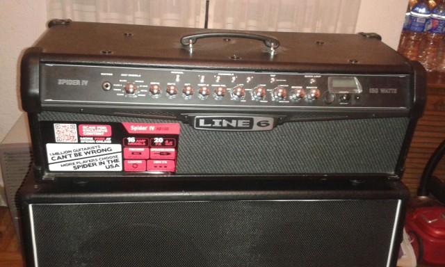 Line6 spiderIV y Harley benton 4x12