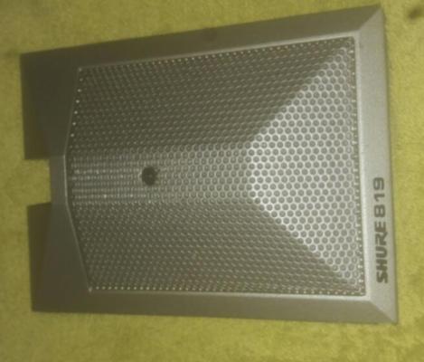 Micro shure beta 819