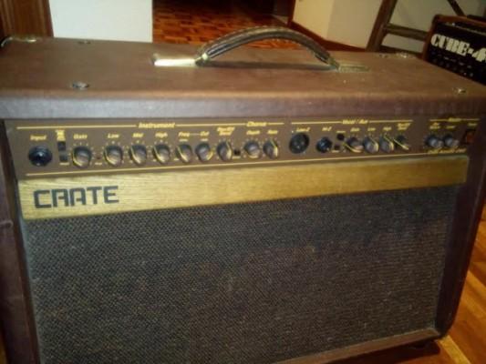 amplificador crate fabricado en San Louis de acustica y voz